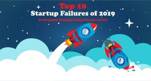 top 10 Startup Failures of 2019