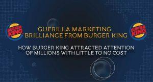 Guerilla Marketing Brilliance From Burger King