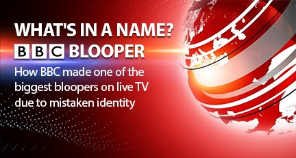 Whats in a name BBC Blooper